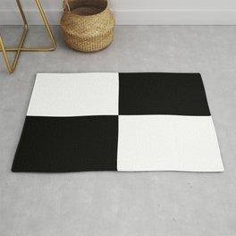 WHITE & BLACK Rug