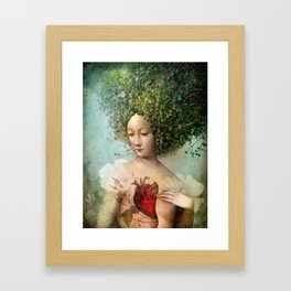 The Day I lost my Heart Framed Art Print