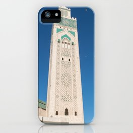 Majesty of Hassan II - Casablanca, Morocco iPhone Case