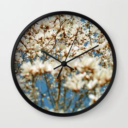 Holding My Breath Wall Clock