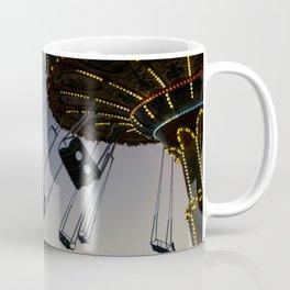 Swing ride at sunset Coffee Mug
