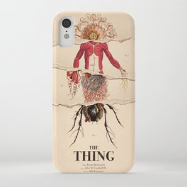 The Thing Alternative Film Poster iPhone Case
