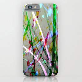Abstract No. 4 iPhone Case