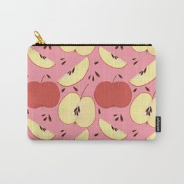 Apple Pie Pink Carry-All Pouch