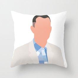Forrest Gump 90s movie Throw Pillow