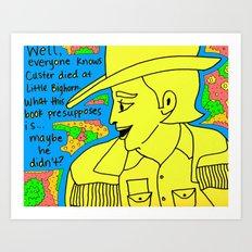 Eli Cash Art Print