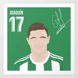 Joaquin - Real Betis Art Print