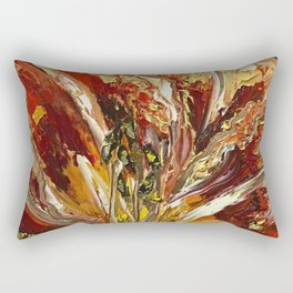 Lily Roars Rectangular Pillow