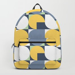 yellow dots Backpack