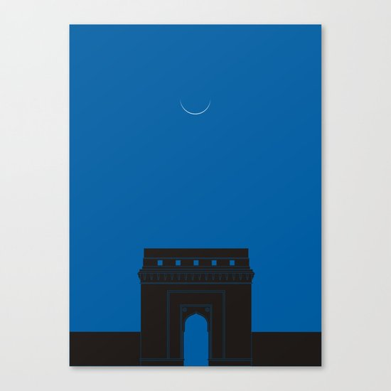 Crescent Canvas Print