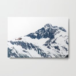 Frozen copter Metal Print