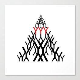 y-triangle Canvas Print