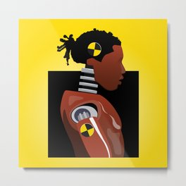 Asap Rocky - Test Dummy Metal Print