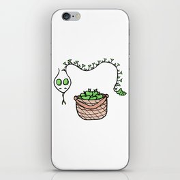 Snake and Apples iPhone Skin