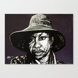 Nina Simone #4 (Peaches) Canvas Print