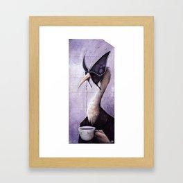 Portrait of a gentleman Framed Art Print