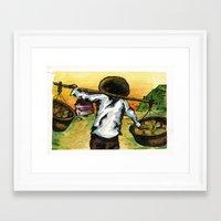 cuba Framed Art Prints featuring Cuba by Christie Minnie