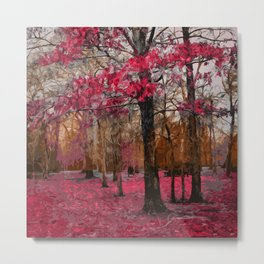 Into the forest of Elves Metal Print