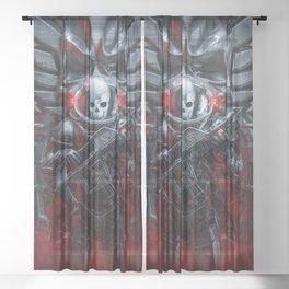 Honor Guard Sheer Curtain