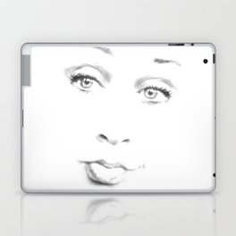 Le Visage Pâle (The Pale Face) Laptop & iPad Skin