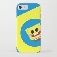 spongebob iPhone & iPod Cases featuring Spongebob Squarepants by Eyetoheart