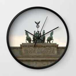 Victory, Brandenburger Gate statue Berlin Wall Clock