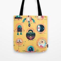:::Mini Robots::: Tote Bag