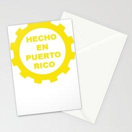 Hecho En Puerto Rico Stationery Cards