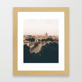 The moods of Budapest Framed Art Print