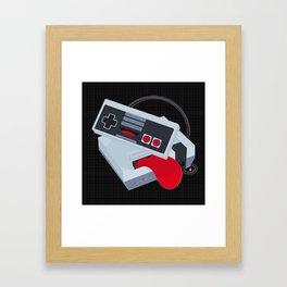 HappyNES Framed Art Print