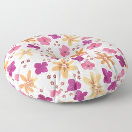 Gouache Floral no.1 Floor Pillow