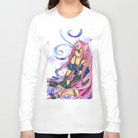 vocaloid Long Sleeve T-shirts featuring IA(fanart) by jannaj