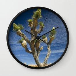 Joshua Tree in Joshua Tree National Park Wall Clock