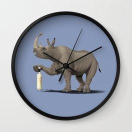 Cork it, Dürer! [HD] (Colour) Wall Clock