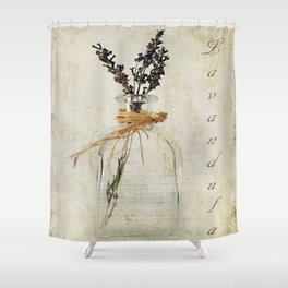 Lavandula / Lavander Shower Curtain