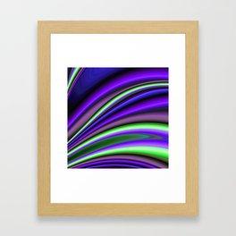 Abstract Fractal Colorways 01PL Framed Art Print