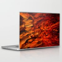 blood Laptop & iPad Skins featuring Blood by Paul Kimble