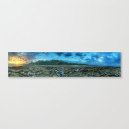 La Sirenas Sunset view at LowTide Canvas Print
