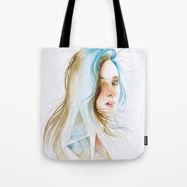 You have to lose your mind in the wind, to find yourself. Tote Bag