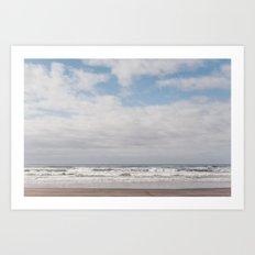 Pacific Northwest Ocean Art Print