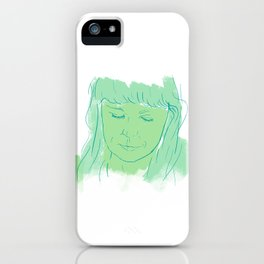 Alessi's Ark, another portrait I made, for purchasing here iPhone Case