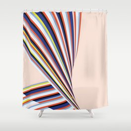 Wave Series p3 Shower Curtain