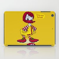 donald duck iPad Cases featuring Donald by 2mzdesign