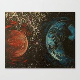 No Distance Matters Canvas Print
