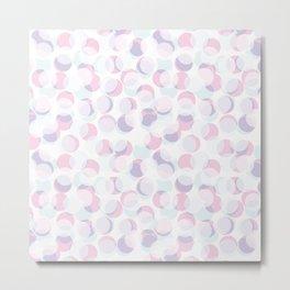 Random dots pattern. Metal Print