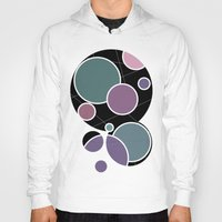 circles Hoodies featuring CIRCLES by VIAINA DESIGN