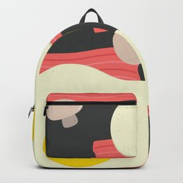 Egg and bacon Backpack