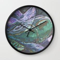 Pintado Flower Wall Clock