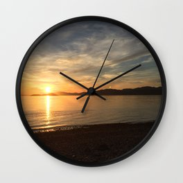 Ocean Calm VI Wall Clock