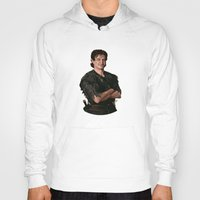 robin williams Hoodies featuring Robin Williams by MagnoliaRuby